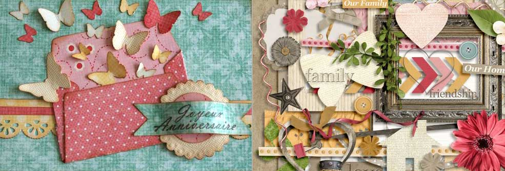 exemple scrapbooking
