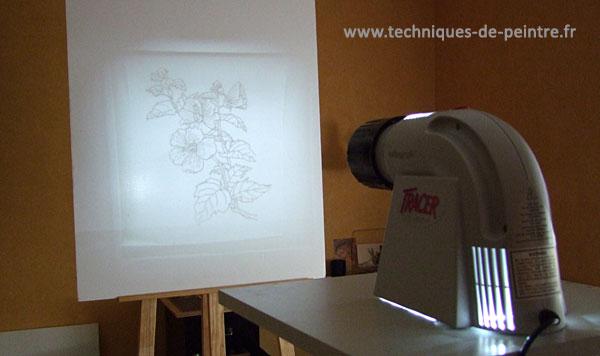 Comment reproduire un dessin facilement for Dessiner sur un mur peinture