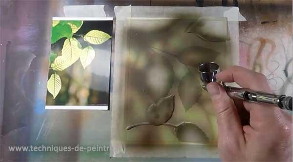 02-peindre-l'arrière-plan-à-l'aérographe-techniques-de-peintre